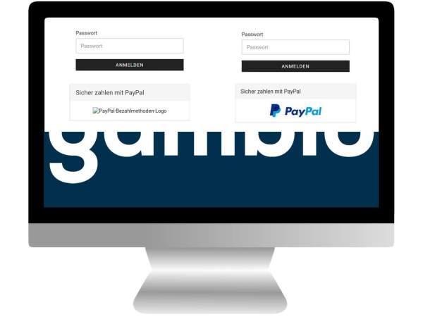 PayPal Bild & Logo Fehler